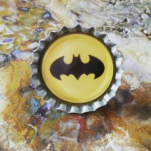 Batman bottlecap ring